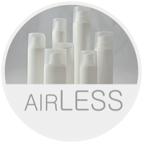 Contenitori in plastica linea Airless