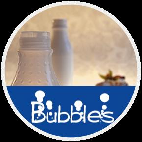Contenitori in plastica linea Bubble